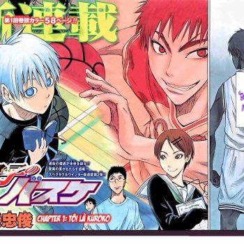 Truyện tranh Kuroko No Basket - Kuroko tuyển thủ vô hình