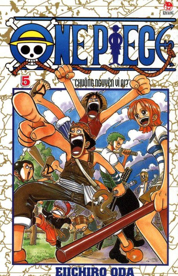 Truyện tranh One Piece - Vua hải tặc